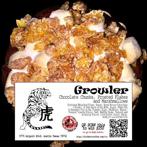 Growler - Chocolate Chunks, Frosted Flakes and Marshmallows