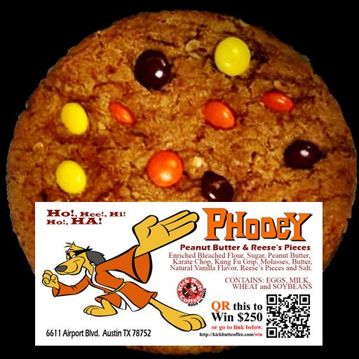 Phooey - Peanut Butter and Reese's Pieces