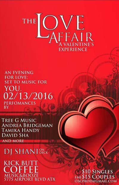 The Love Affair A Valentines Experience