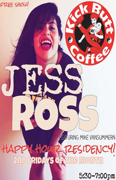 Jess Ross featuring Mike Vansummern Happy Hour Residency
